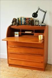 vintage bureau vintage bureau writing desk teak mid century roll top made