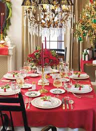 Elegant Dinner Table Decoration With 6 Best Christmas Dining Room Images On Pinterest