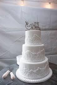 Pastoral Idaho Inn Wedding Rustic CakesTier