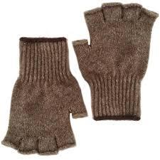 extreme gear bison down gloves brown