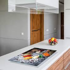 qta herdabdeckplatten 80x52cm ceranfeld abdeckung glas