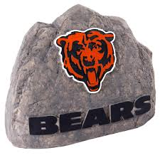 Kmart Football Bean Bag Chair by Nfl Standing Garden Stone Chicago Bears