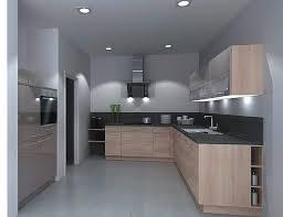 nolte musterküche einbauküche u form küche grau lack