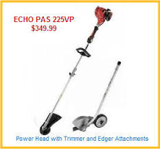 Power Head With Trimmer And Blower Attachments
