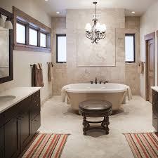 designs amazing chandelier above bathtub design bathroom decor