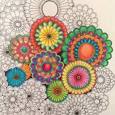 The Secret Garden Coloring Book Completed