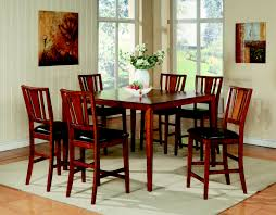 100 Cherry Table And 4 Chairs Dining Hot Image Of Dining Room Decoration Using Reddish