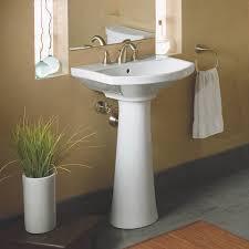 Kohler Gilford Sink Specs by Kohler K 2362 8 Cimarron Pedestal Bathroom Sink With 8 Widespread