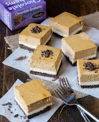 Pumpkin Layer Cheesecake by Gluten Free Chocolate Pumpkin Cheesecake Bars Garnish With Lemon