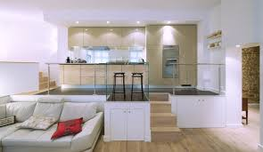 realisation cuisine modern loft kitchen rive droite model