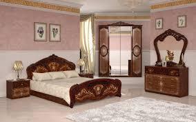 schlafzimmer barock stil julianna 4 teilig walnuss