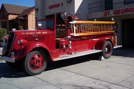 100 First Fire Truck 1936 Studebaker The Very First Fire Engine For St George
