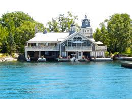 100 Lake Boat House Designs Alexandria Bay NY Home With Attached Boathouse In 2019