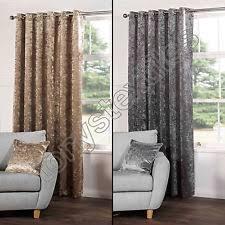 Dkny Modern Velvet Curtain Panels by Modern Curtains Drapes U0026 Valances Ebay
