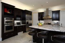 kitchen cabinets with light countertops panel glass window