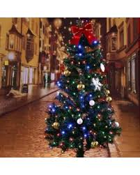 7ft Slim Led Christmas Tree by Amazing Deal On Ktaxon 7ft Pre Lit Artificial Christmas Tree W