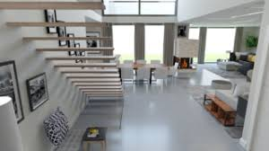 moderne bauhaus villa contemporary dining room