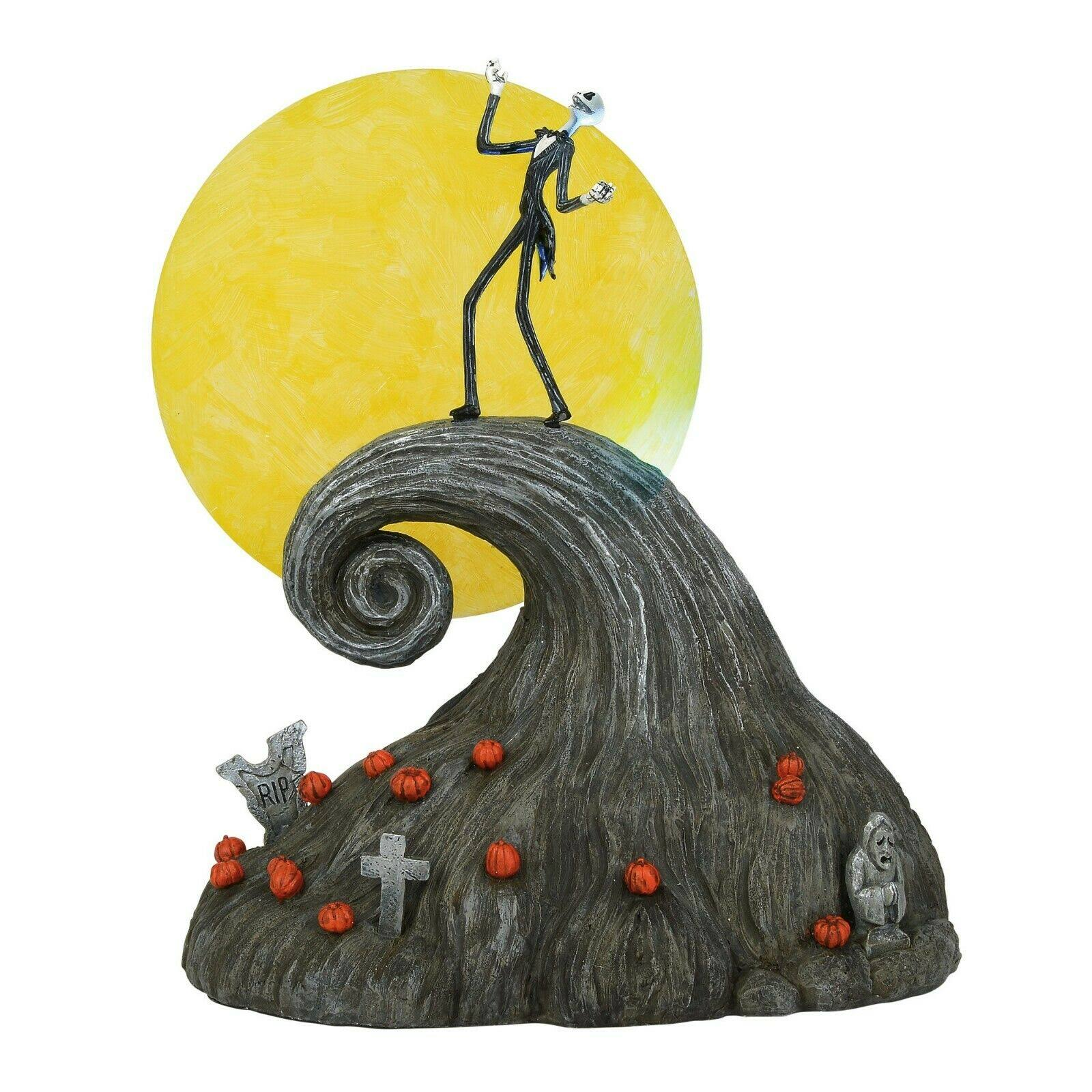 Department 56 Nightmare Before Christmas Jack on Spiral Hill 6002299