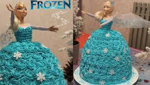 elsa die eiskönigin torte aus sahne selber machen anleitung