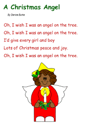 Song A Christmas Angel