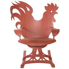 Rooster Rocking Chair - Red | Cricket Forge | Outdoor Metal Furniture Patio Ding Chair For The Modern Lollygagger Loll Designs Home By Nilkamal Pronto Solid Wood 1 Seater Rocking Chairs Price In Dimeions Of Made Gary Weeks And Company Tell City Hard Rock Maple Cricket Rocker Andover Antique Oak Boston R92 On Popscreen Diy Upholstery Como Forrar Uma Cadeira Voce Mesmo Vintage 838 For Sale At 1stdibs Luxembourg Fermob Haus Color Kids With A Name Childs Etsy Charles Ray Eames Herman Miller Gci Outdoor Pod Camp Shop Babyletto Grey Cushions Free Shipping