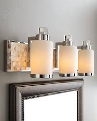 bathroom vanity lights lowes design with three ls and mirror in