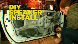 How To Install Car Speakers - YouTube