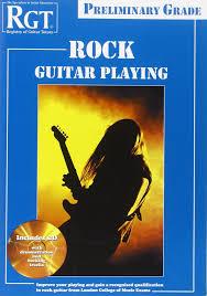 preli guitare a le rgt rock guitar preliminary grade book cd set trax