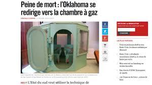 chambre à gaz états unis l oklahoma remet la chambre à gaz au goût du jour