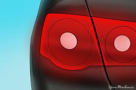 how to replace a brake light bulb yourmechanic advice