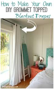 Curtains With Grommets Diy by 3 Easy Diy Winter Warm Up Projects The Happy Housie