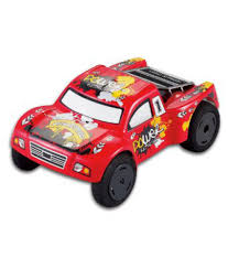 Mini Rc Truck (Red) Electric Off Road High Performance Super Fast ...