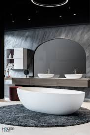 matte freistehende badewanne aus mineralwerkstoff in 2021