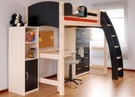Ikea Full Loft Bed by Desks Bunk Beds With Desk Twin Loft Bed White Camaflexi Full