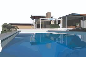 100 Desert House Kaufmann By Richard Neutra The Dots