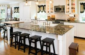 Kitchen Island Ideas Design With Double Sinks In Morris County Home