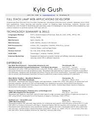 Web Developer Resume Examples 2016 Packed With Samples Career