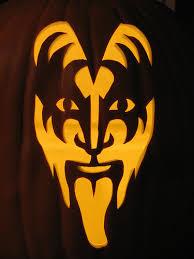 Free Batman Logo Pumpkin Carving Patterns by Gene Simmons Pumpkin Carving Pattern Here U0027s Some Really Cool
