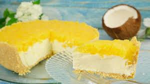 rezept piña colada cheesecake
