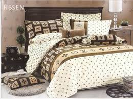 Fashion Bed Sheet LV Bedding Sets Louis Vuitton bedspread accessory