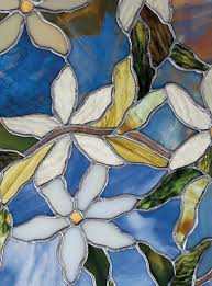 Artscape Magnolia Decorative Window Film by Amazon Com Artscape Clematis Window Film 24
