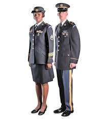 Army Service Uniform Out with the old in with the blue