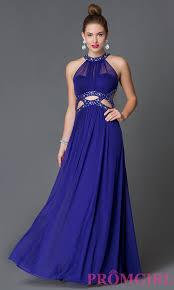electric purple open back prom dress promgirl