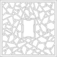 Geometric Shapes Coloring Page I Think Ill Cut Out The Middle And Use This