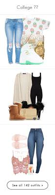 College By Jadechanteon Liked On Polyvore Featuring MICHAEL Michael Kors Nixon