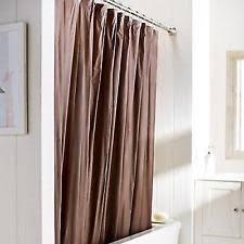 Light Filtering Curtain Liners by Brown Shower Curtains Ebay