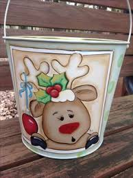 Christmas Paintings Xmas Crafts Kid Wooden Tole Painting Decorative Canvas Reindeer Snowmen