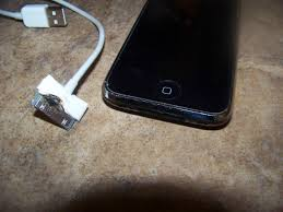 IPhone and USB cord caught on fire and melted
