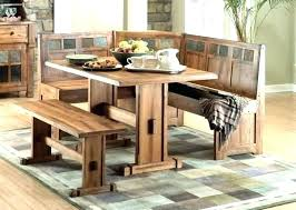 Dining Room Table With Bench Seat Storage Dinner Tables Benches