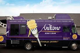 Andiamo's Italian Food Truck Starts Rolling Thursday - Eater Detroit Detroit Bbq Company Owner Makes Yet Another Social Media Gaffe National Coney Island Food Truck Trucks Roaming Hunger Taco Trucks On Every Corner Wikipedia The Nosh Pit 25 Food That You Must Try This Summer Streetside Sushi Wow Consumers With Custom Vehicle Wraps In Mopop 2015 Review Festival Forecast Nu Deli By Coach Youtube Good Reviews Facebook Marconis Pizza